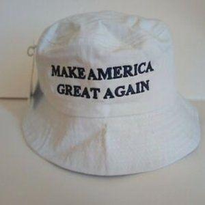 maga trump supporter bucket hat